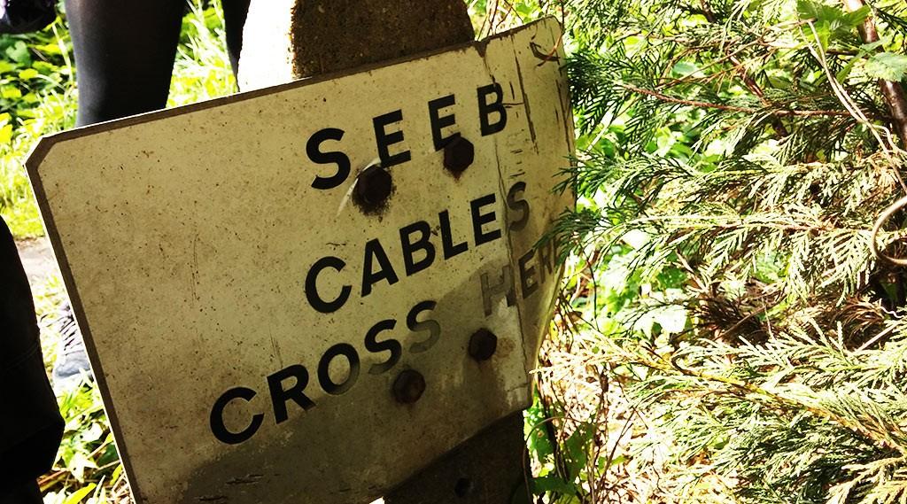 SEEB Cables Cross Here, Twickenham