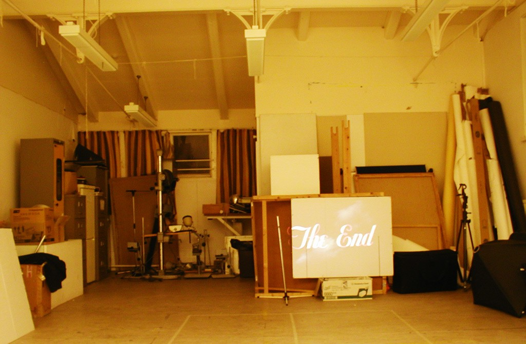 The End, College Hall, Cooper's Hill, 2004