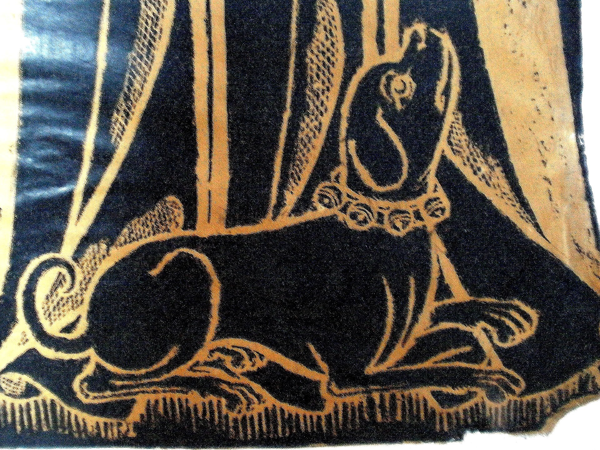 Detail of Juliana, wife of Thomas de Cruwe, 1411, CC licensed by Amanda Slater