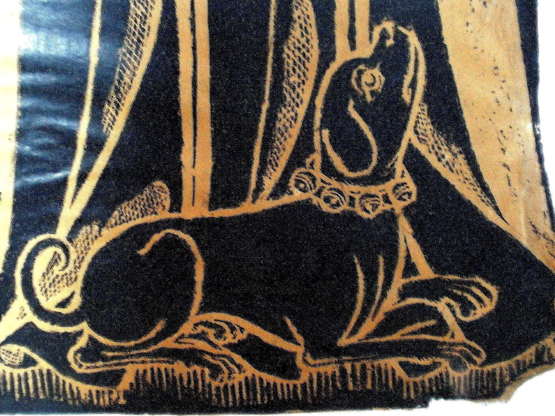 Detail of Juliana, wife of Thomas de Cruwe, 1411, CC licensed by Amanda Slater