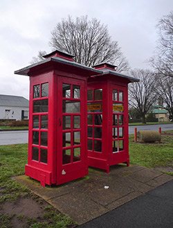 Australian phonebox. Photo by Halans on Flickr