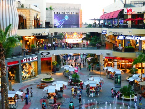 Hollywood &#038; Highland mall
