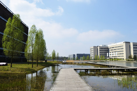 Boardwalk at Philips High Tech Campus, Eindhoven