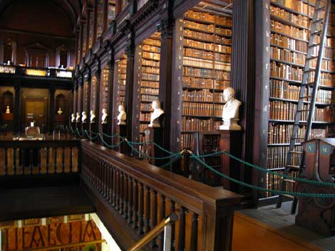 Trinity College Dublin Library, by A little coffee with my cream and sugar on Flickr